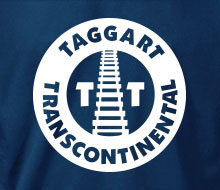 Taggart Transcontinental (Circle w/Tracks) - T-Shirt
