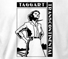 Taggart Transcontinental (Dagny) - Ladies' Tee