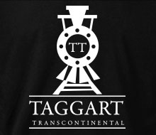 Taggart Transcontinental (Oncoming Train) - Crewneck Sweatshirt