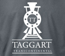 Taggart Transcontinental (Oncoming Train) - Hoodie