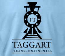 Taggart Transcontinental (Oncoming Train) - Ladies' Tee