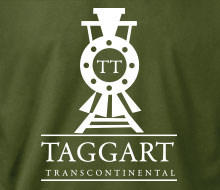 Taggart Transcontinental (Oncoming Train) - Long Sleeve Tee