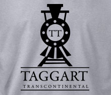 Taggart Transcontinental (Oncoming Train) - Men's Polo Shirt