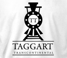 Taggart Transcontinental (Oncoming Train) - T-Shirt