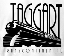 Taggart Transcontinental (Comet) - Long Sleeve Tee