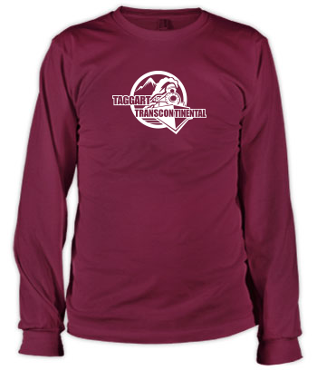 Taggart Transcontinental (Circle w/Train) - Long Sleeve Tee