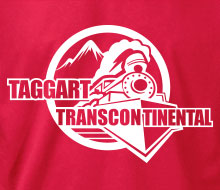 Taggart Transcontinental (Circle w/Train) - Crewneck Sweatshirt