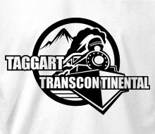 Taggart Transcontinental (Circle w/Train) - T-Shirt