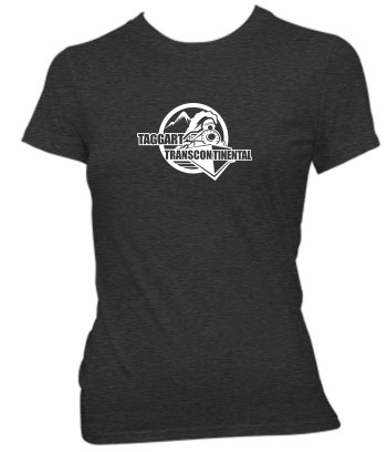 Taggart Transcontinental (Circle w/Train) - Ladies' Tee