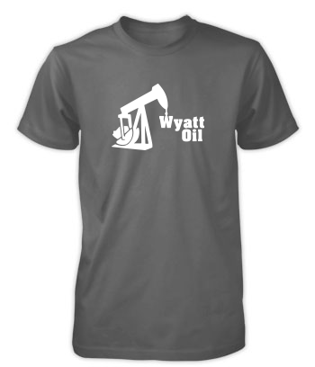Wyatt Oil (Rig) - T-Shirt