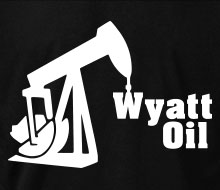 Wyatt Oil (Rig) - Crewneck Sweatshirt