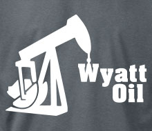 Wyatt Oil (Rig) - Long Sleeve Tee