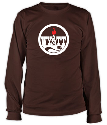 Wyatt Oil (Torch #2) - Long Sleeve Tee