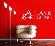 Wall Art - Atlas is Shrugging