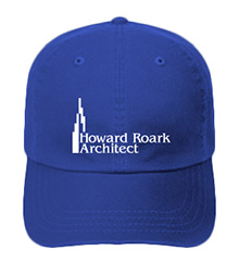 Howard Roark, Architect (Skyline) Printed Hat - Available in 10 Colors!