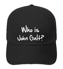 Who is John Galt? (2-Line Graffiti) Printed Hat - Available in 10 Colors!