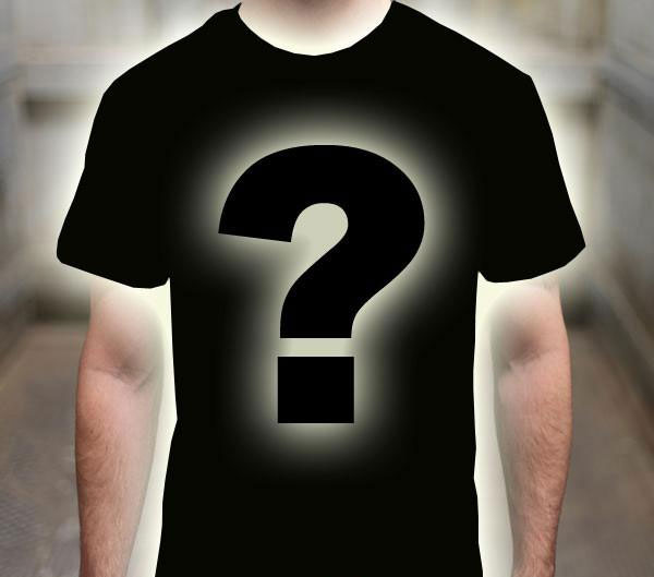 Mystery Apparel - Choose your style & size. The design & color is a surprise!